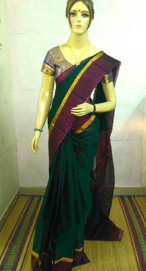 Pure Silk Cotton Saree 18