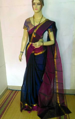 Pure Silk Cotton Saree 19