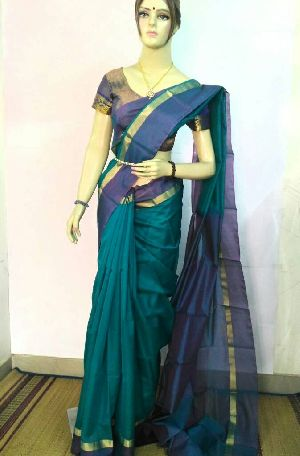 Pure Silk Cotton Saree 21
