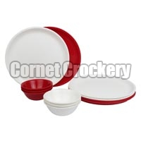 Acrylic Plate & Bowl Set