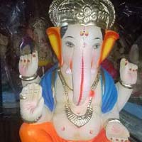 Colored Clay Ganesh Statues 21