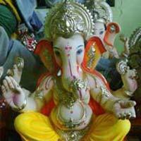Gypsum Ganesh Statues (GK039)