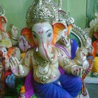 Gypsum Ganesh Statues (GK058)