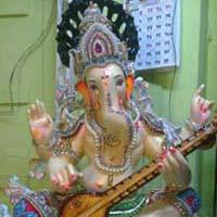 Gypsum Ganesh Statues (GK115)