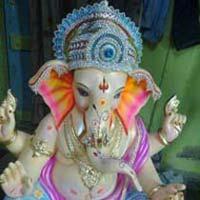 Gypsum Ganesh Statues (GK136)