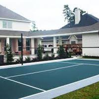 Synthetic Volleyball Court Flooring