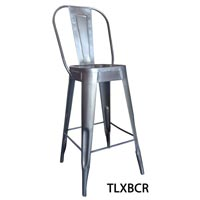 Antique Metal Bar Chair