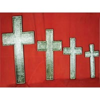 Metal Christian Crosses