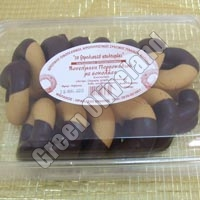 Choco & Orange Olive Cookies