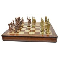 Brass Chess Set