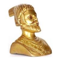 Brass Chhatrapati Shivaji Statue