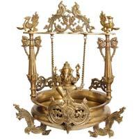 Brass Ganesha Urli