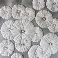 Designer Embroidery Ribbon Work