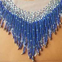 Glass Bead Embroidery Necklaces