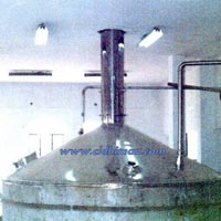Stainless Steel Lauter Tun (Top View)