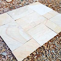 Mint White Yellow Sandstone