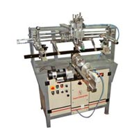 Semi Auto Deluxe Round Screen Printing Machine