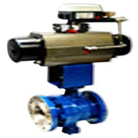 V Notch Ball Valve