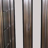 Stainless Steel Double Door Cabinet