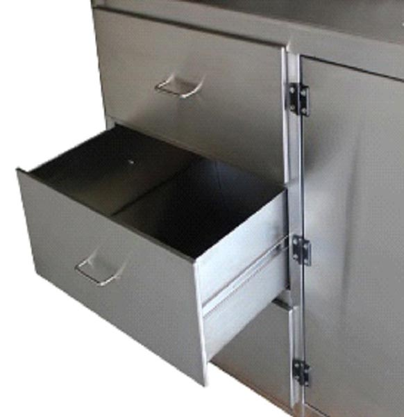 Stainless Steel Laboratory Case Work Cabinet Sink