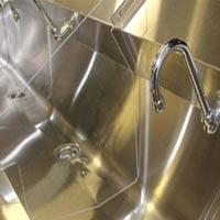 Stainless Steel Laboratory Scrubbing Sink
