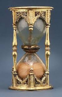 antique sand clock