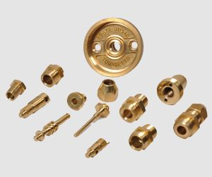 LPG Gas Regulator Brass Components