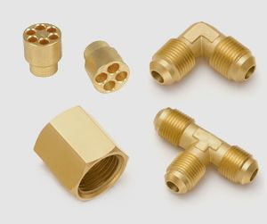 Brass Forged Flare Components