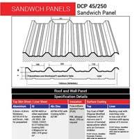Hi-Rib Insulated Sandwich Panel (DCP 45/250)