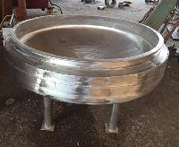Cooking Pan in stainless steel