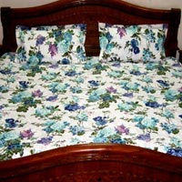 Cotton White Bed Sheet