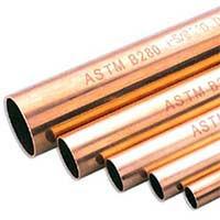 Copper Straight Tubes