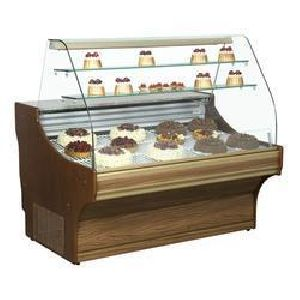 Durable Wooden Display Counter