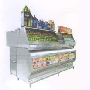 Juice Display Counter
