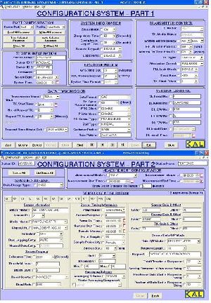 Data-logger System Configuration Software