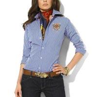 Ladies Blue Shirt