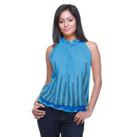 Ladies Blue Top