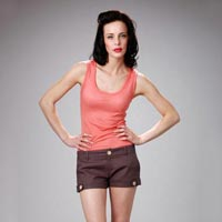 Ladies Brown Short