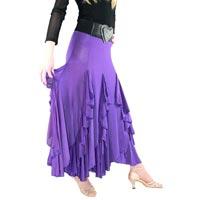 Ladies Purple Skirt