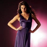 Purple Long One Piece Dress