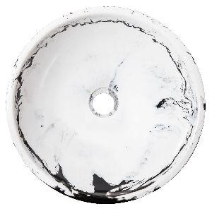 Marble Finish Resin Wash Basin
