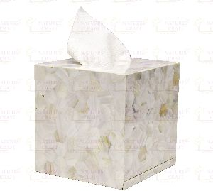 Mother of Pearl  Tissue Boxes