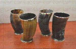 NC-HP-106 Drinking Horn Glass