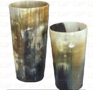 NC-HP-116 Drinking Horn Glass