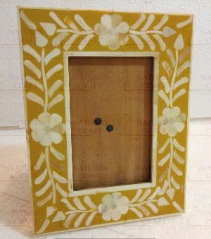 NC-FR-115 Bone Photo Frame