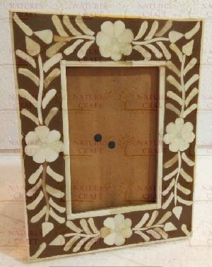 NC-FR-120 Bone Photo Frame