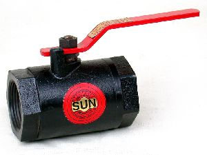 Cast Iron Screwed End Ball Valve 01