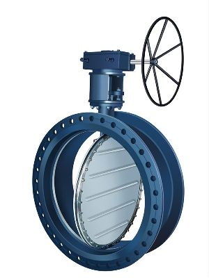 Double Flanged Offset Disc Butterfly Valve 01