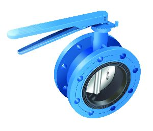 Flanged End Butterfly Valve 01