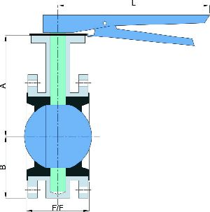Flanged End Butterfly Valve 02
